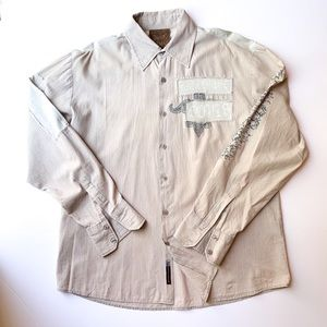 Roar Redemption Statement Button-Down Shirt XL